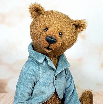 Изображение мишки Тедди сидя