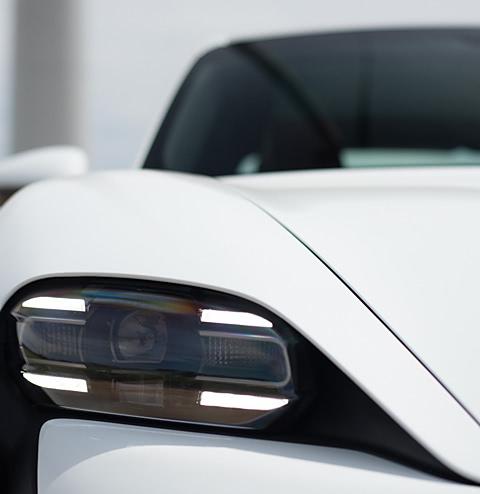 Фара Porsche фото