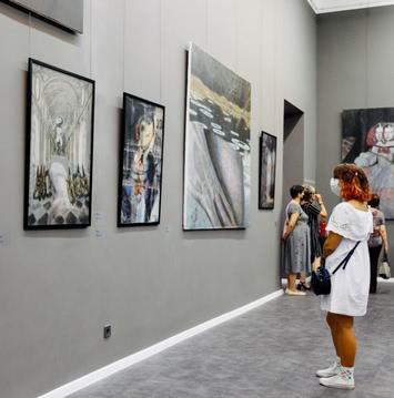 зал одесского художественного музея