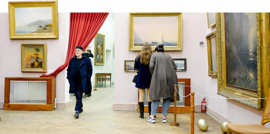 Александр Ройтбурд в одесском художественном музее
