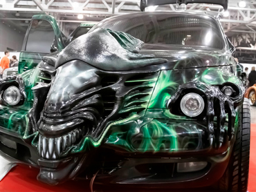 Тюнинг авто в стиле фильма «Чужой»