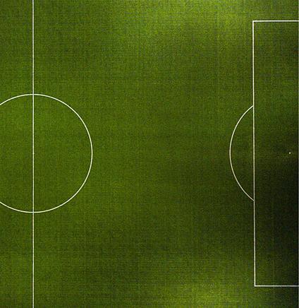 Разметка правой стороны футбольного поля