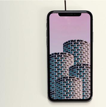 Черный телефон Samsung Serene