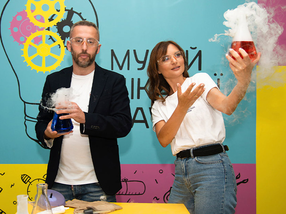 Елена Любиковская и Андрей Бортов