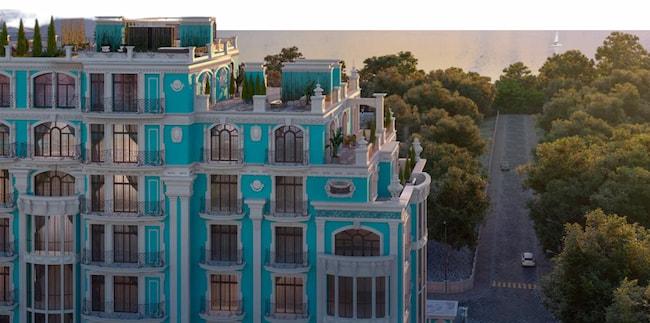 Клубный дом Biarritz в Одессе