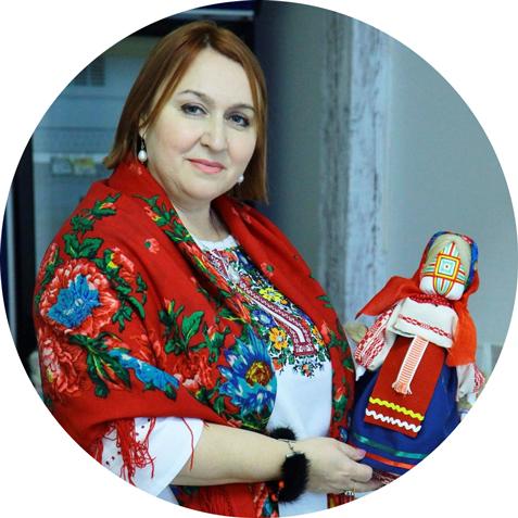 Кира Мельничук мастер мотанки