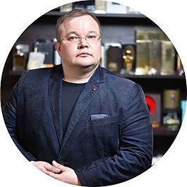 Дмитрий Милютин парфюм-бутик Молуар