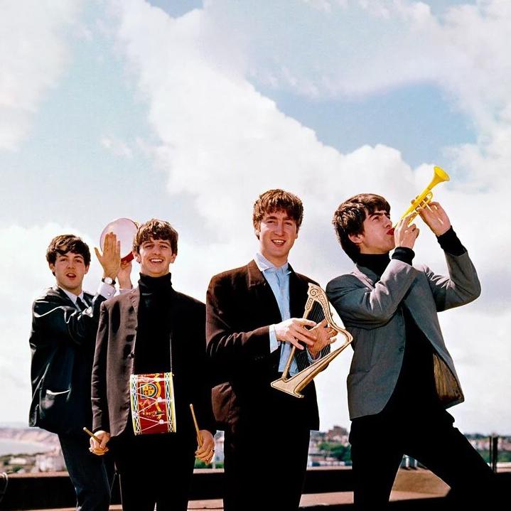 Совместное фото The Beatles