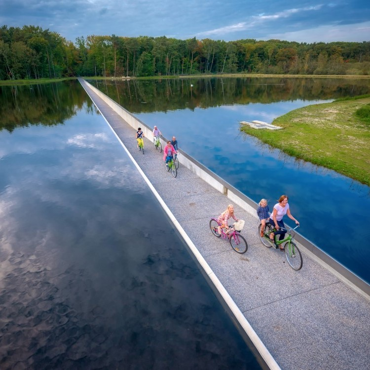 Велодорожка в Бельгии