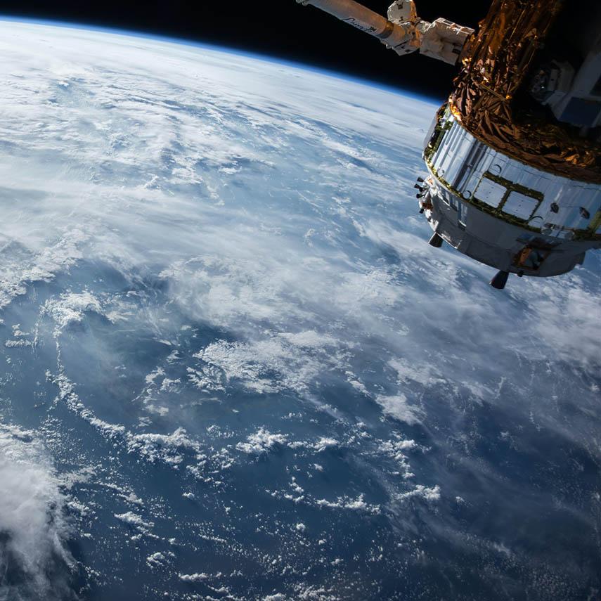 Снимок сделанный со спутника