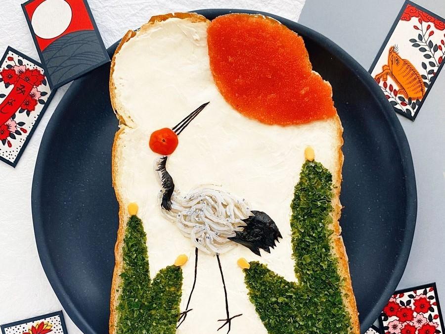 Сэндвич с журавлем