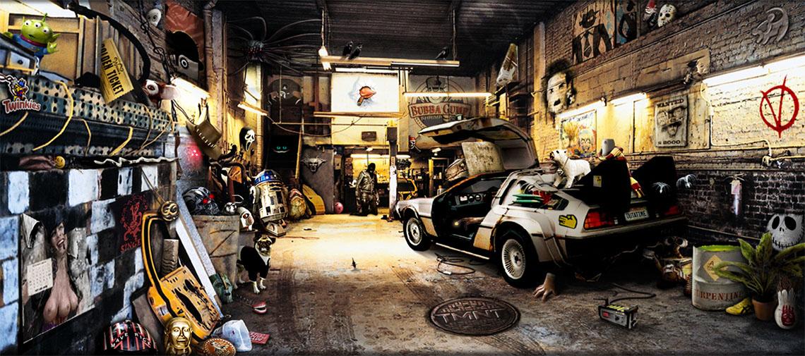 Попкорн гараж