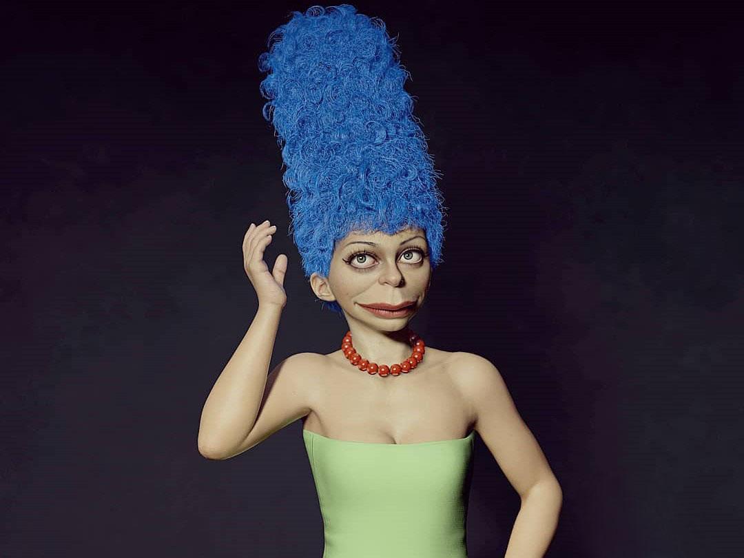Мардж Симпсон портрет