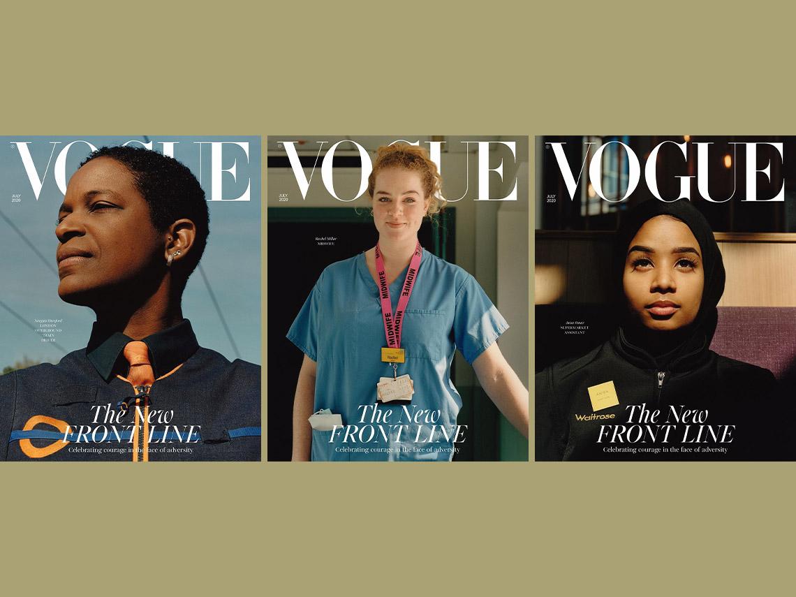 Обложки Vogue Британия июль