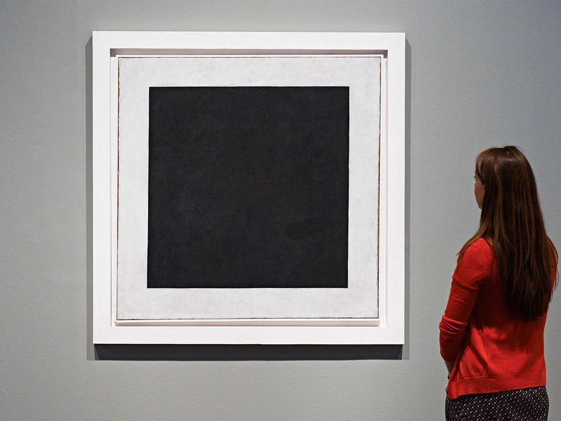 Черный квадрат Малевича фото
