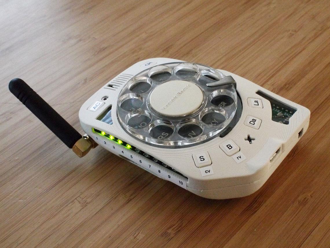 Роторный телефон 1