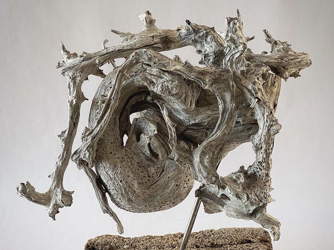 «Услышь» Михаил Рева скульптура