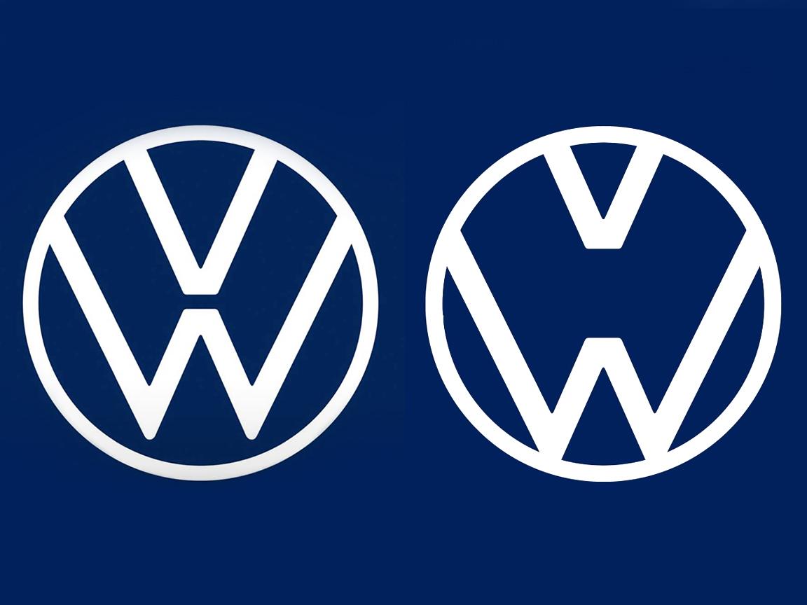 Новый логотип Volkswagen