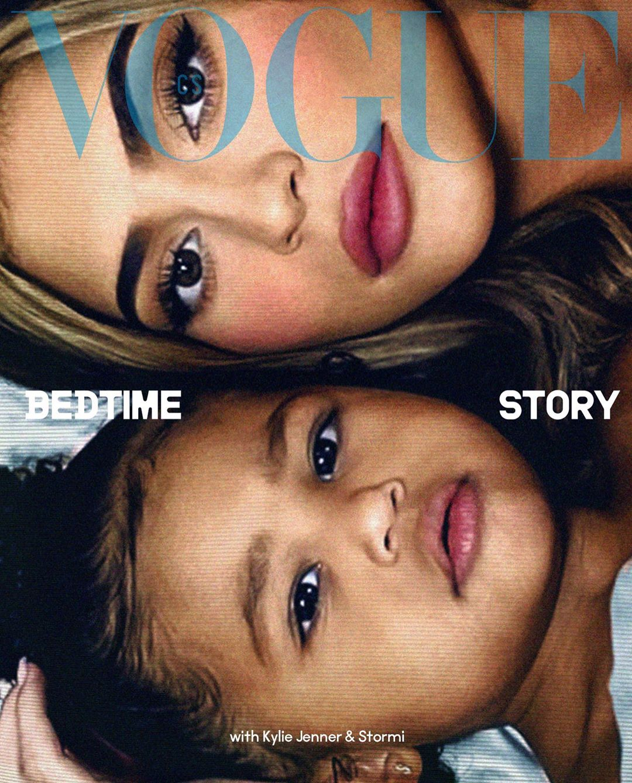 Кайли Дженнер Vogue обложка