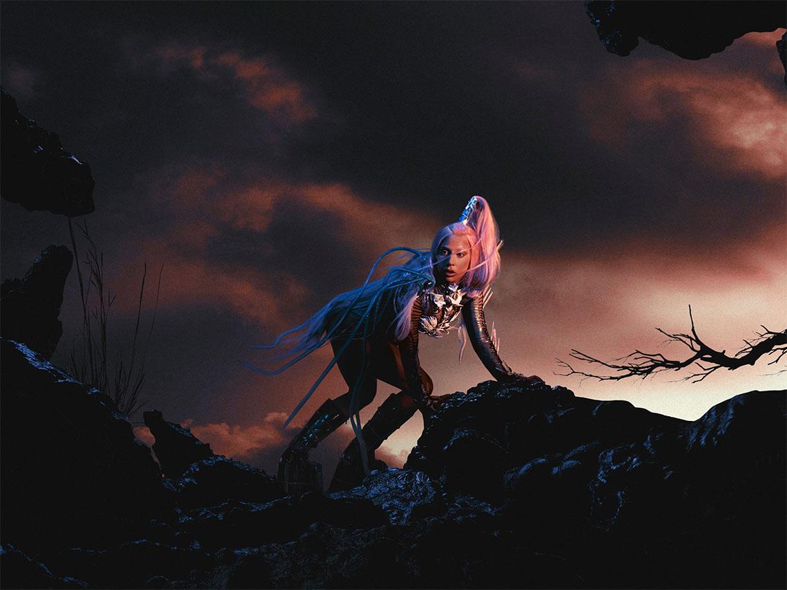 Леди Гага Adobe