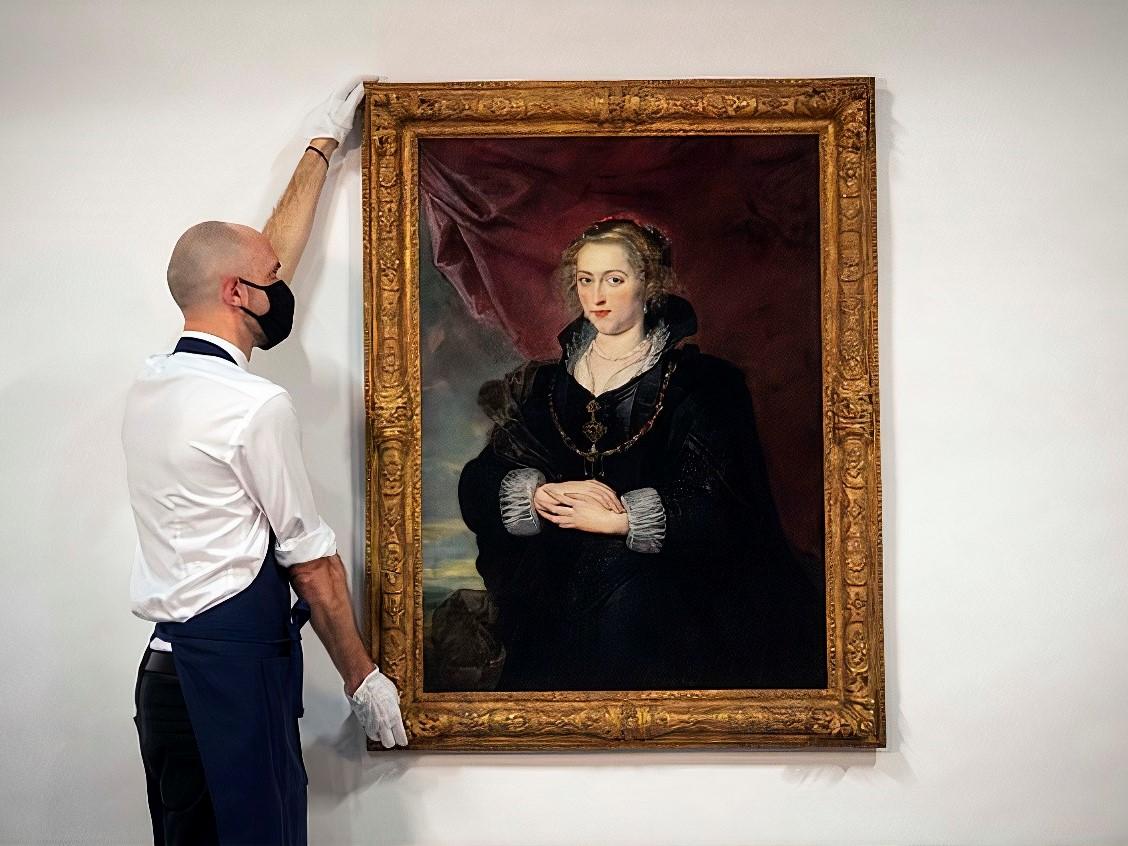 Картина Рубенса фото