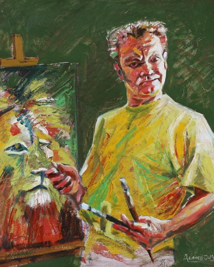 Георгий Делиев автопортрет