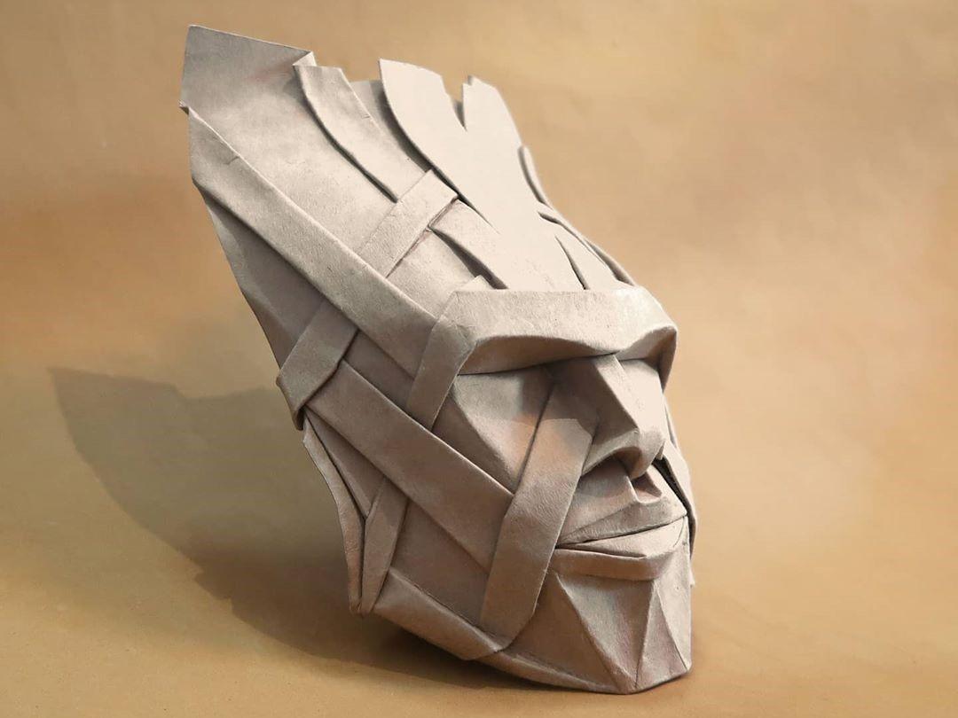 Обложка оригами