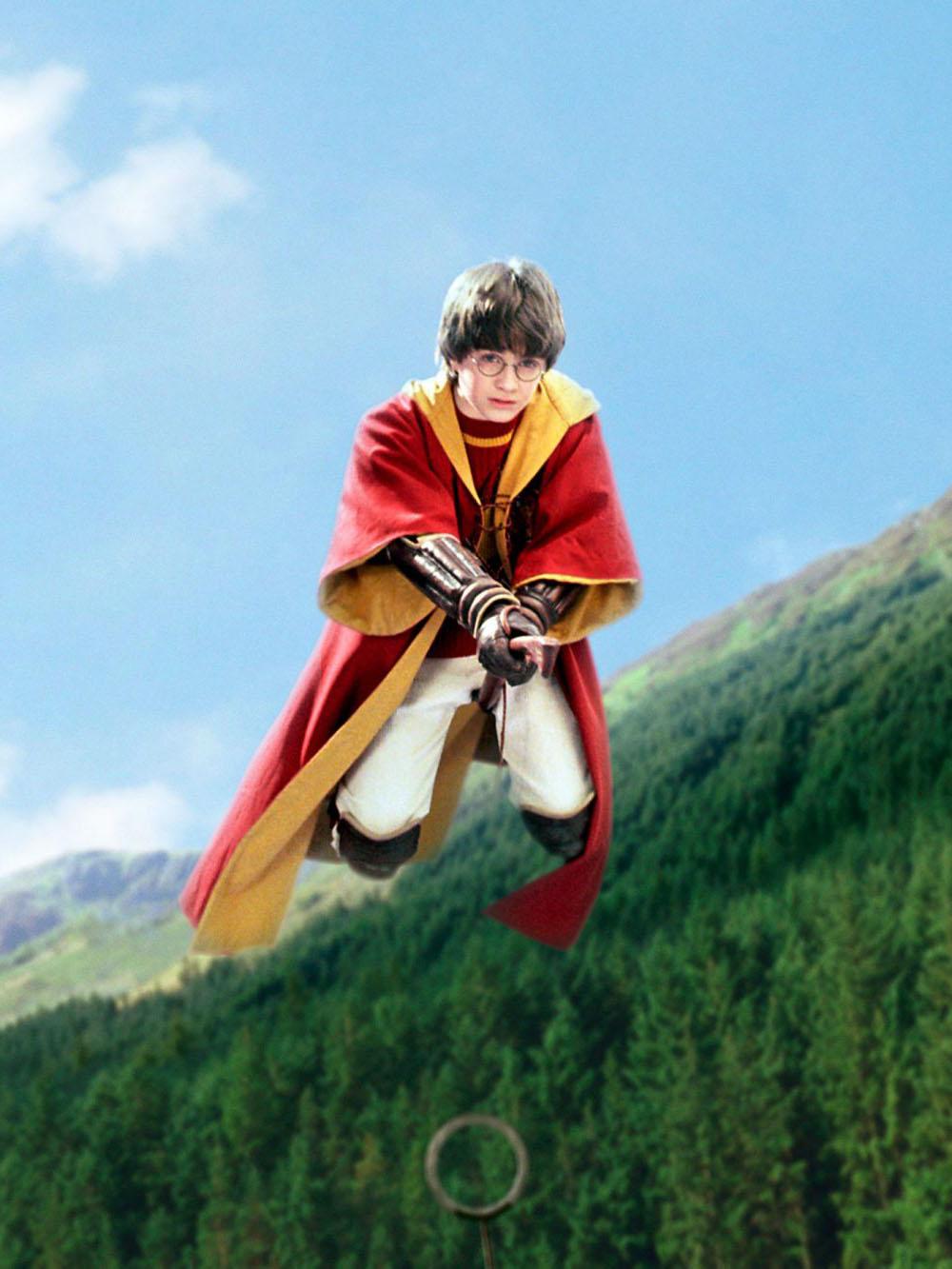 Гарри Поттер  метла