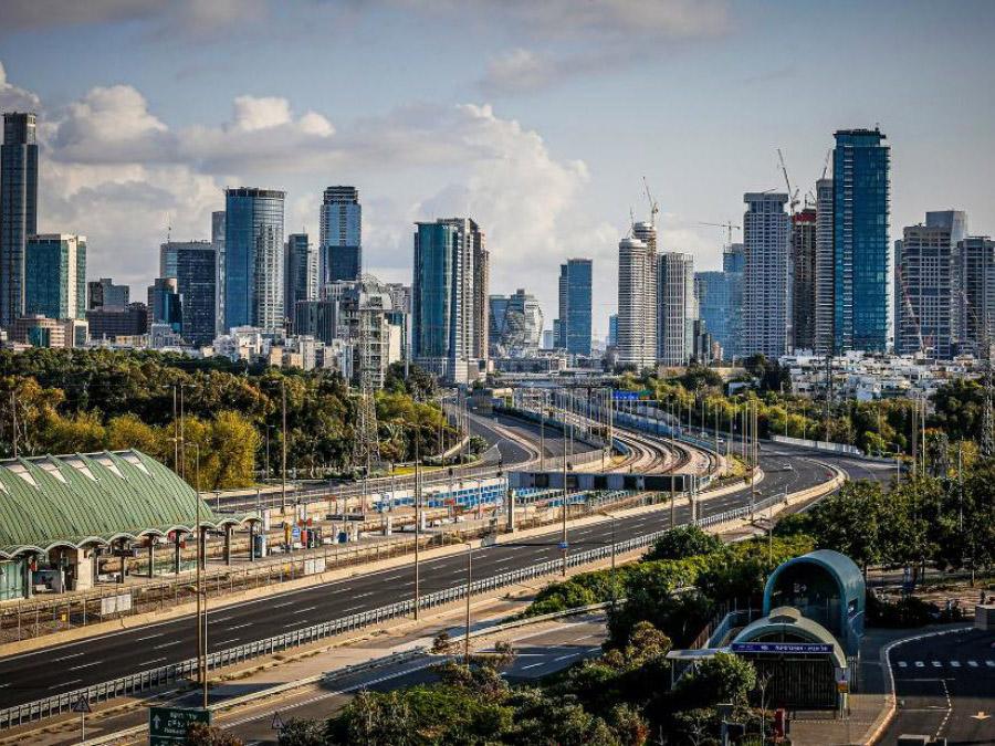 Тель-Авив дороги