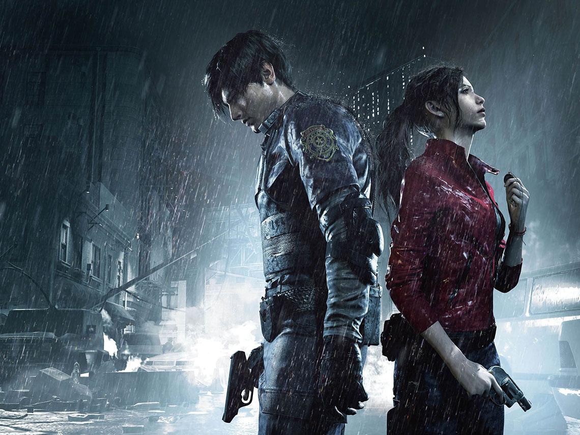 Resident Evil Леон и Клэр