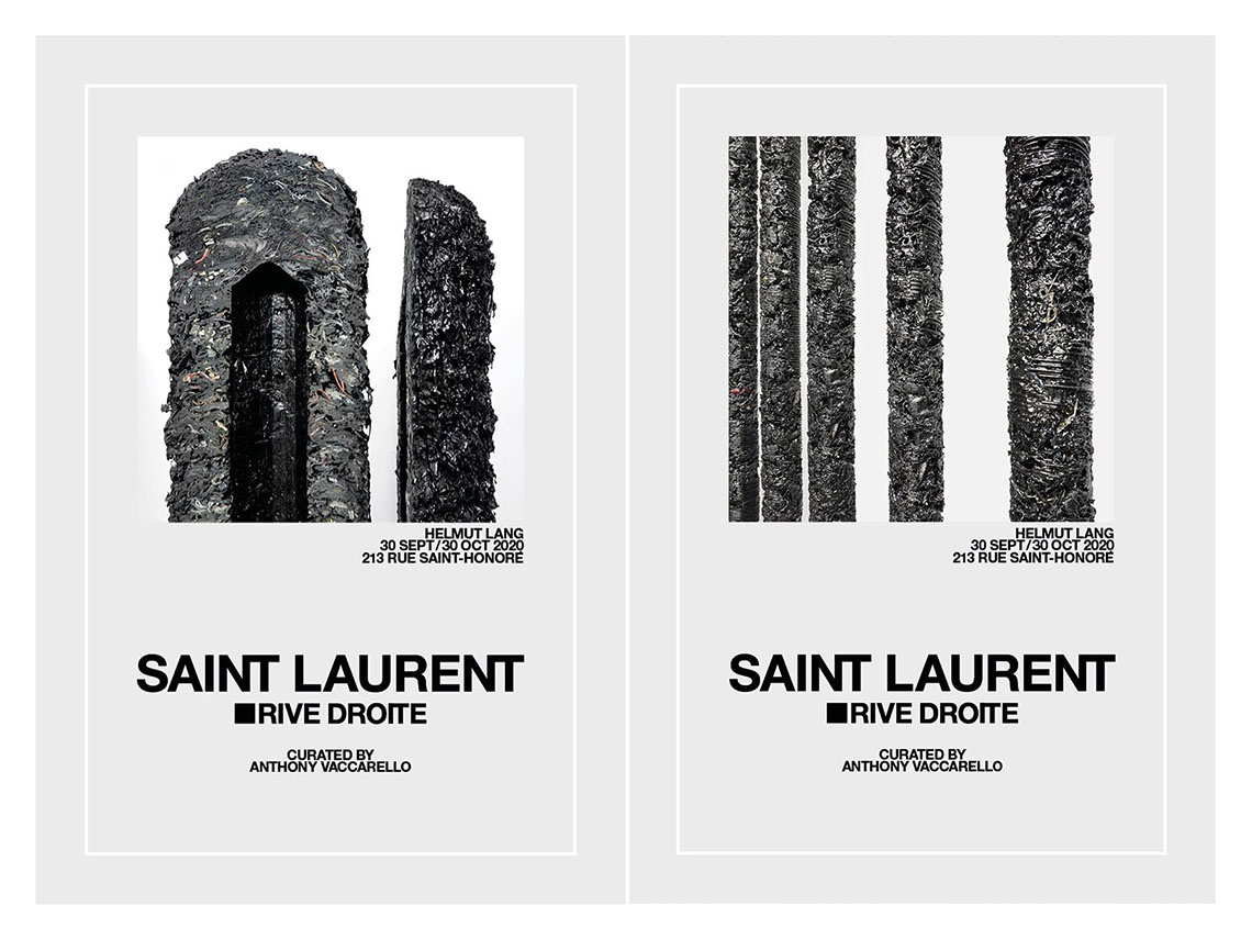 Helmut Lang x Anthony Vaccarello for Saint Laurent Rive Droite