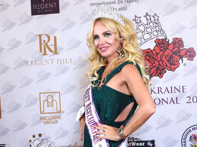 Mrs.Ukraine international Тата Воропаева