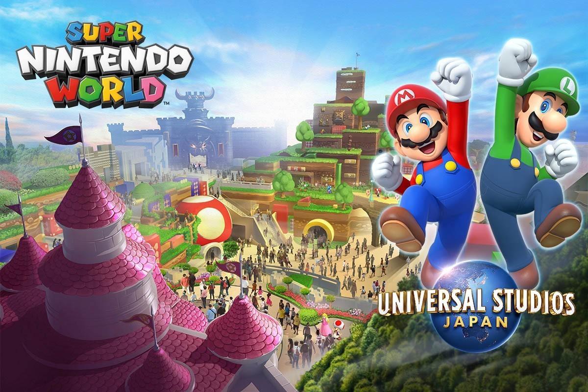 Super Nintendo World обложка