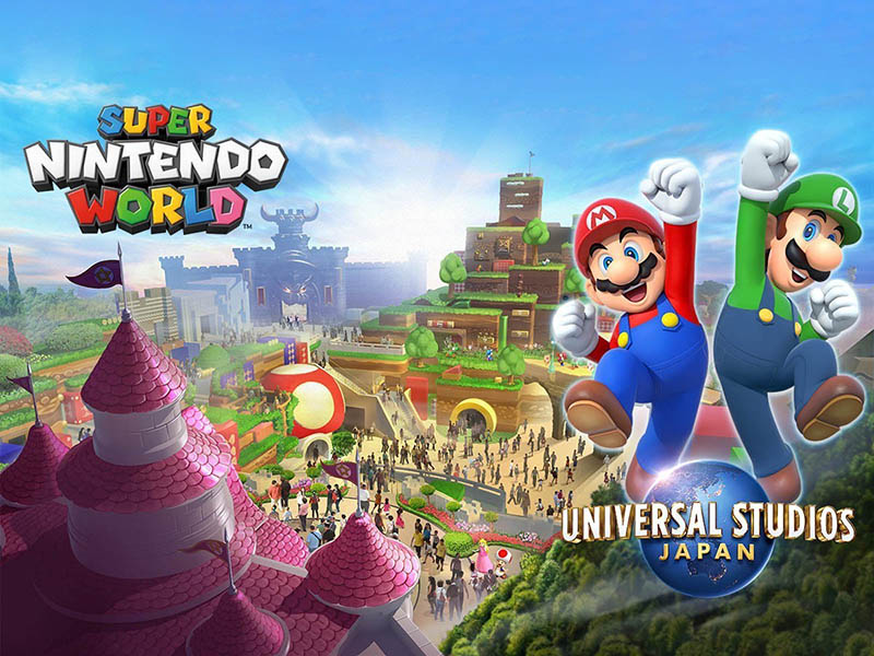 Super Nintendo World обложка