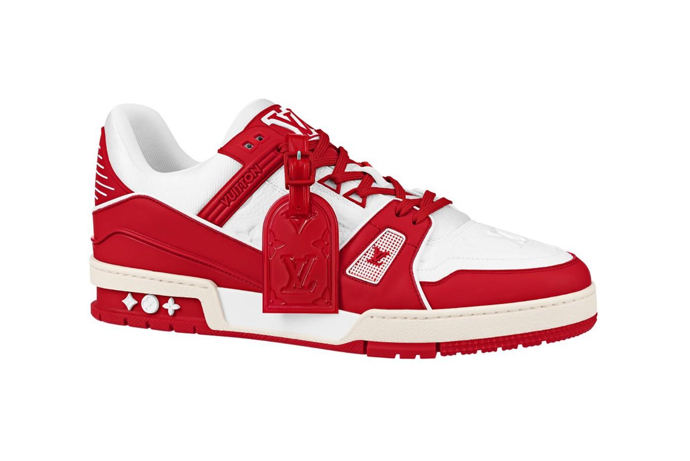 Кроссовки Louis Vuitton I (RED) фото