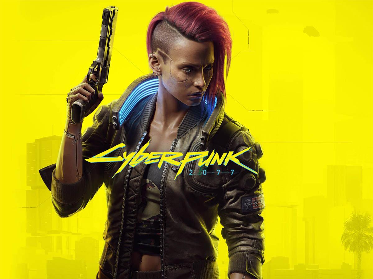 Заставка к игре Cyberpunk 2077