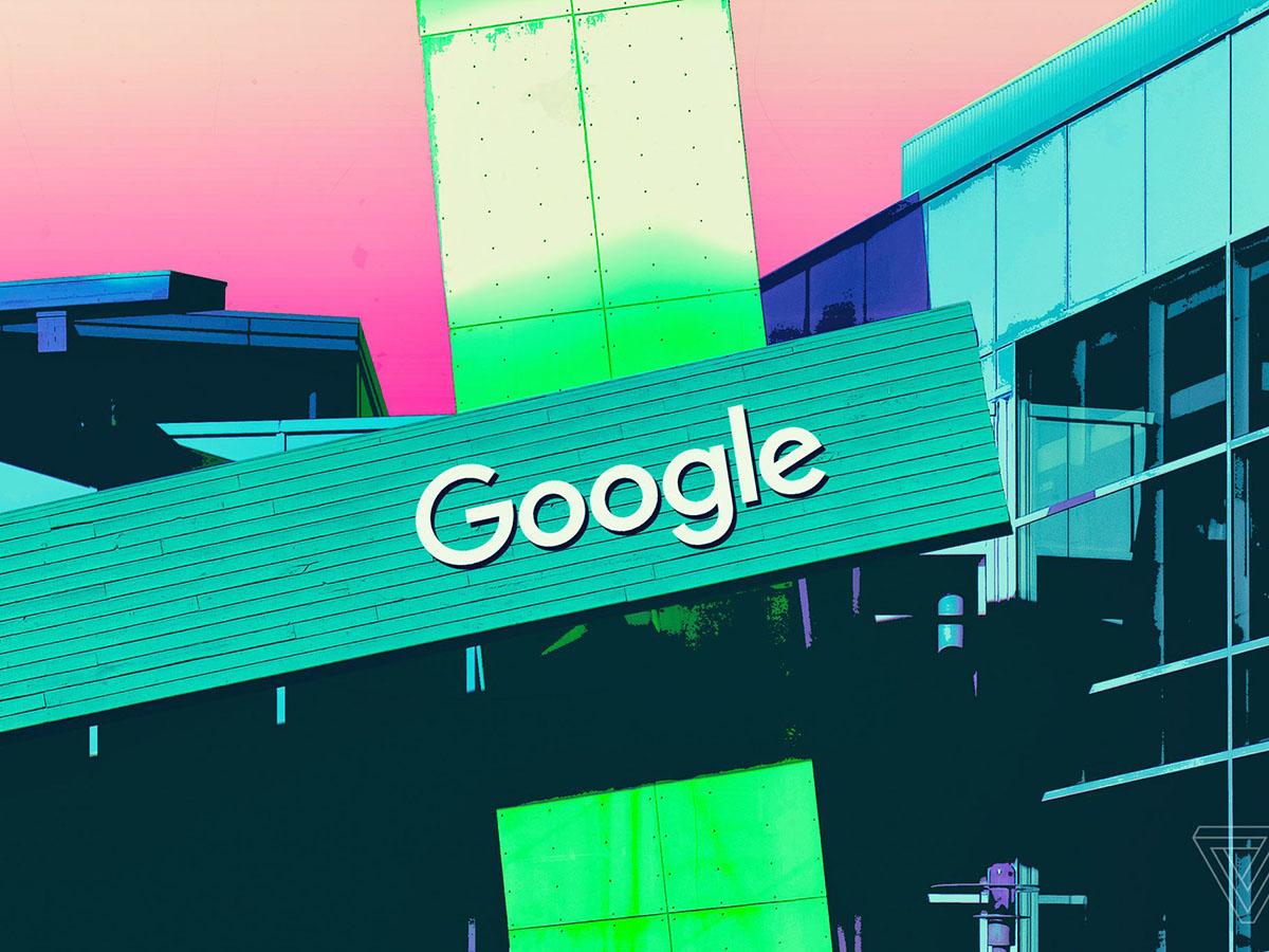 Логотип компании Google иллюстрация