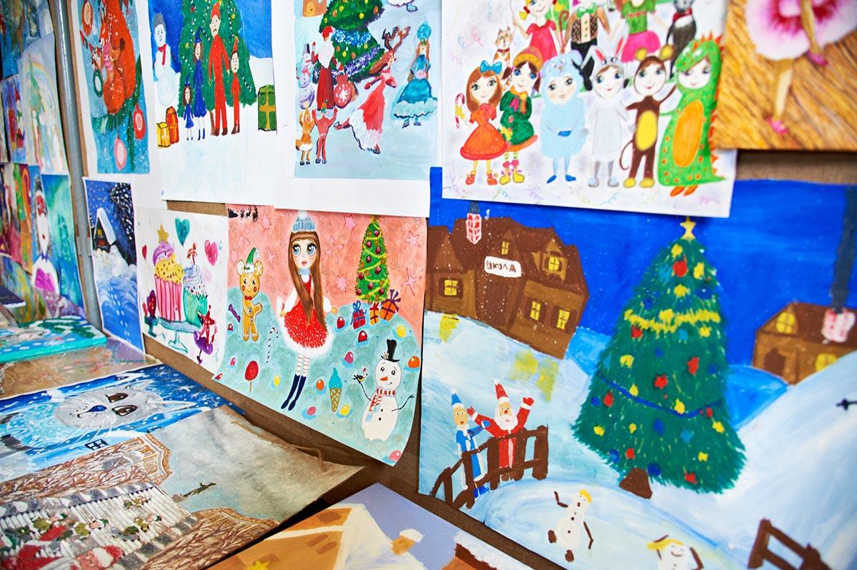 Конкурс детского рисунка «Новогодний карнавал»