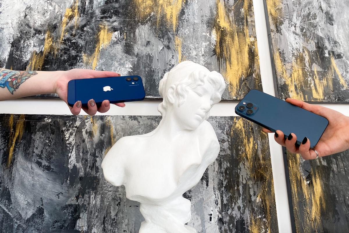 Постер iPhone 11 и iPhone 12 Pro Цитрус