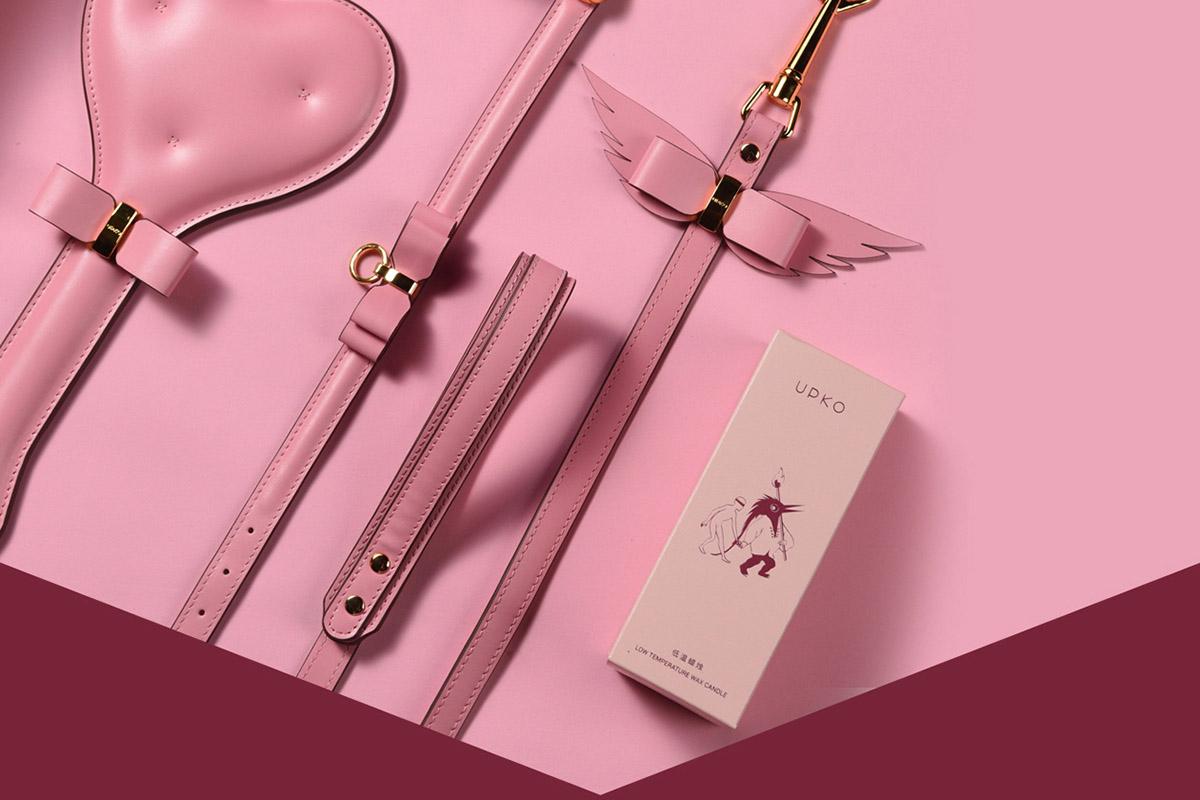 Розовый БДСМ-набор Upko