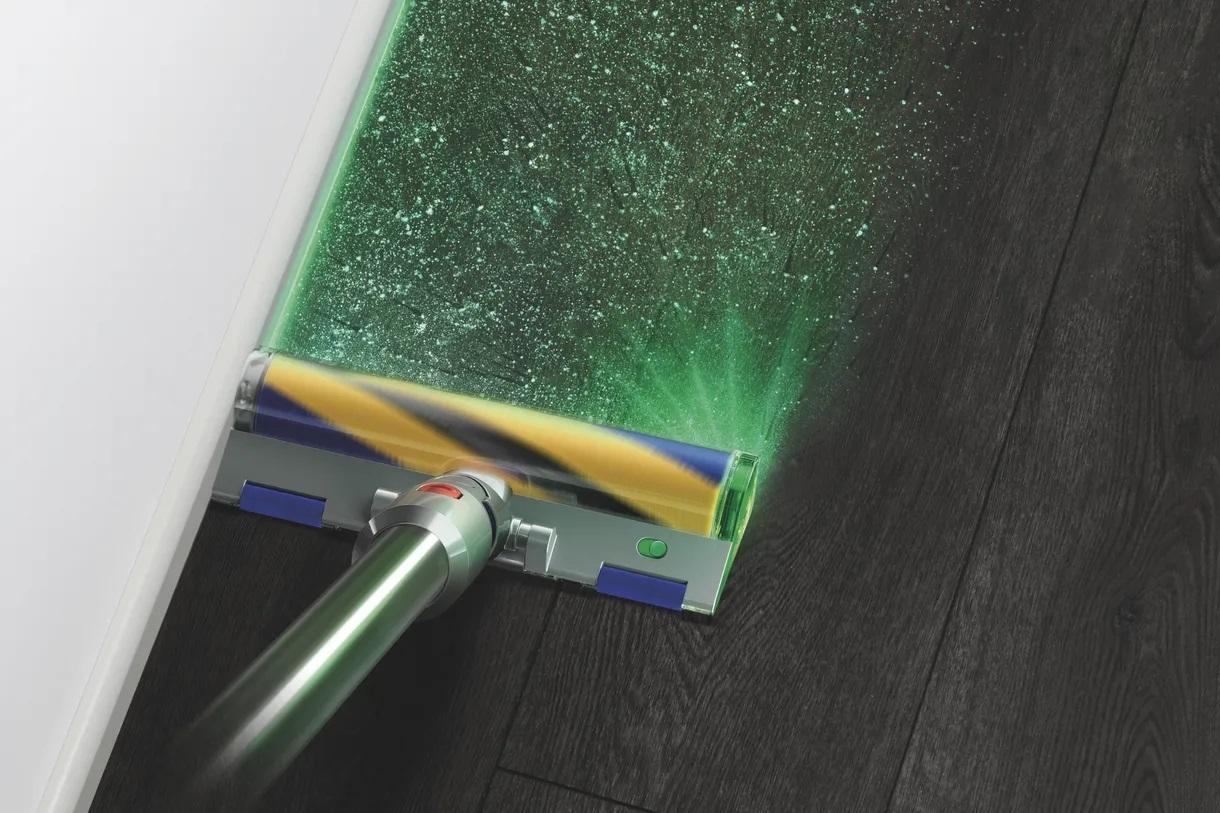 Dyson пылесос лазер