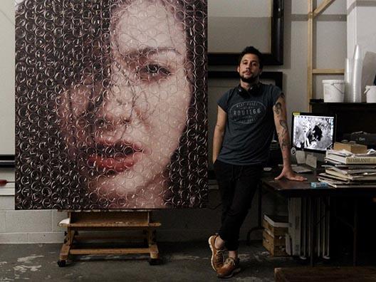 Дариан Медерос и картина