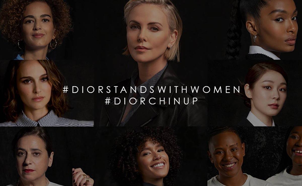 #Diorstandswithwomen и #Diorchinup