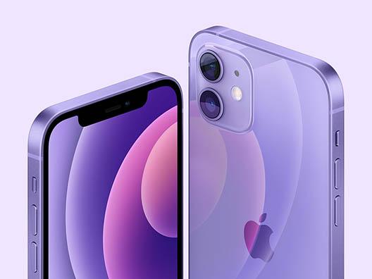 Фиолевый iPhone 12