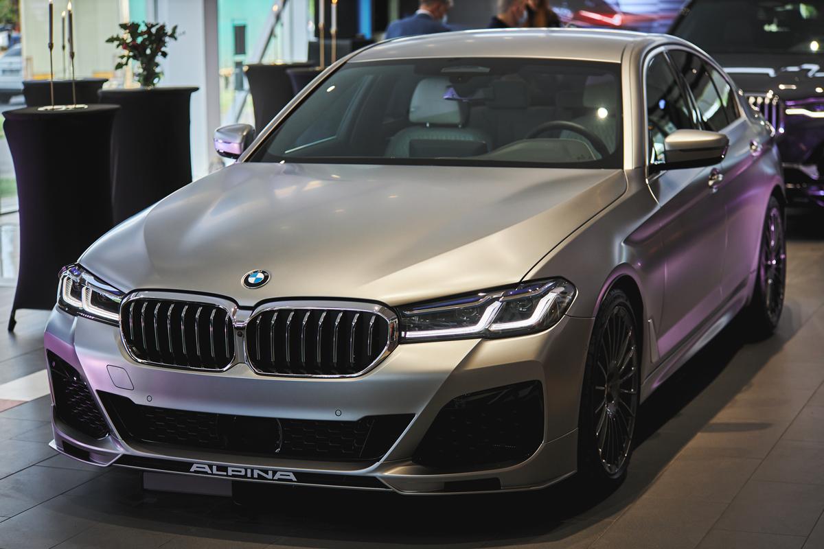 Новая BMW ALPINA B5