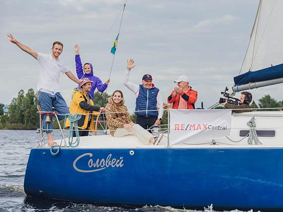 Яхта «Соловей» HIGH LIFE REGATTA 2021