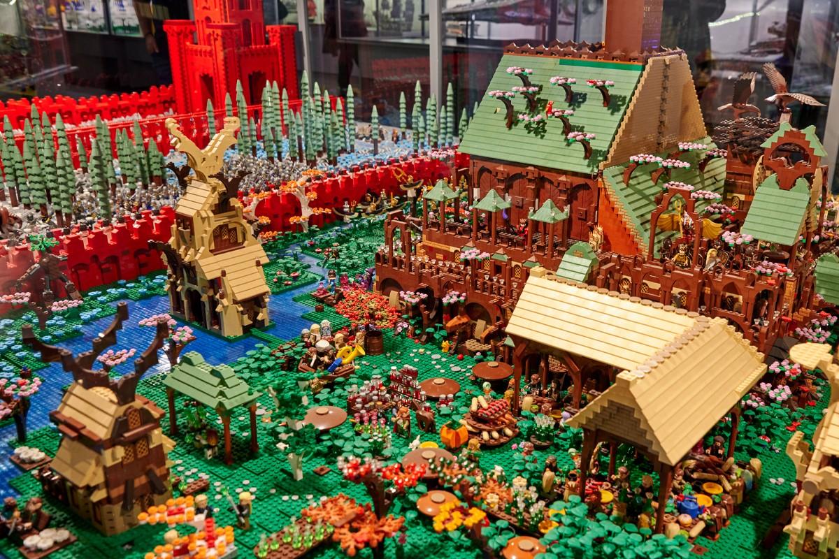 Город конструктор LEGO