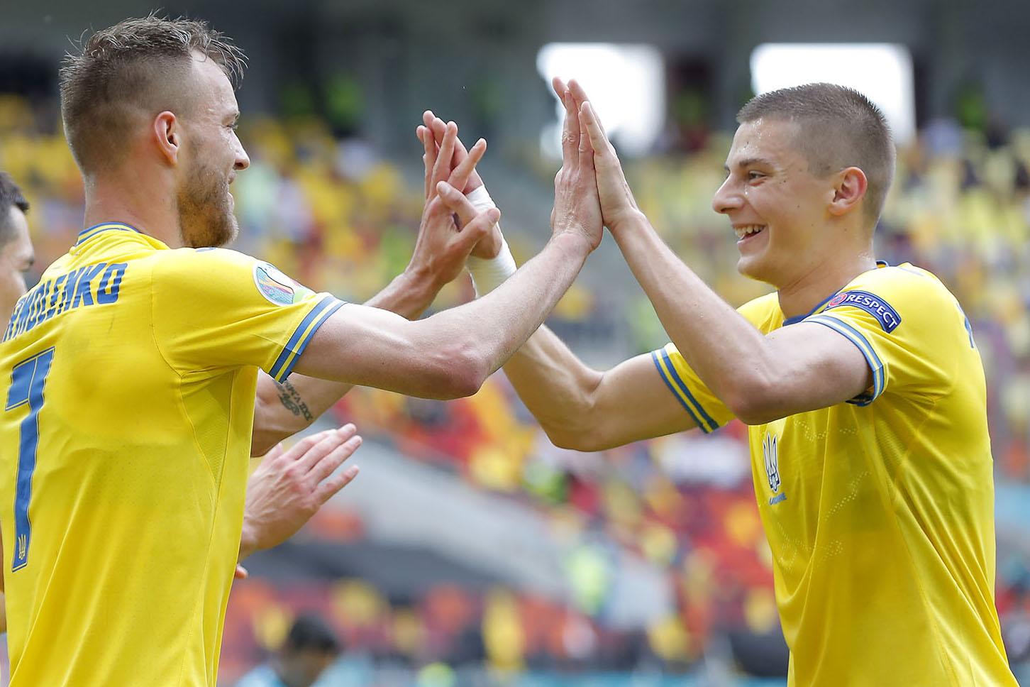 Андрей Ярмоленко и Виталий Миколенко
