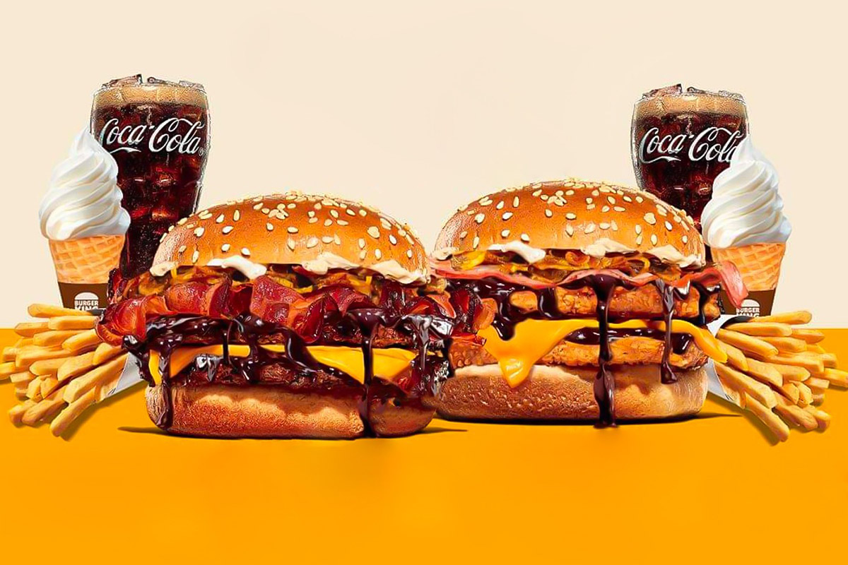 Burger King бургеры