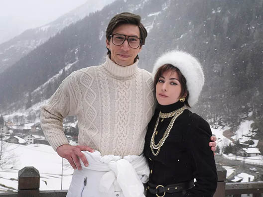 Леди Гаги и Адам Драйвер House Of Gucci